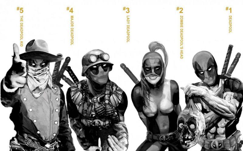 Deadpool Wade Wilson Trainspotting Marvel Comics wallpaper