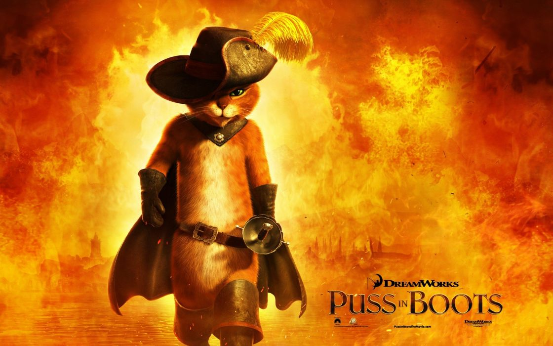 movies Puss in Boots wallpaper