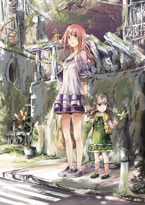 Totoro My Neighbour Totoro anime anime girls original characters wallpaper