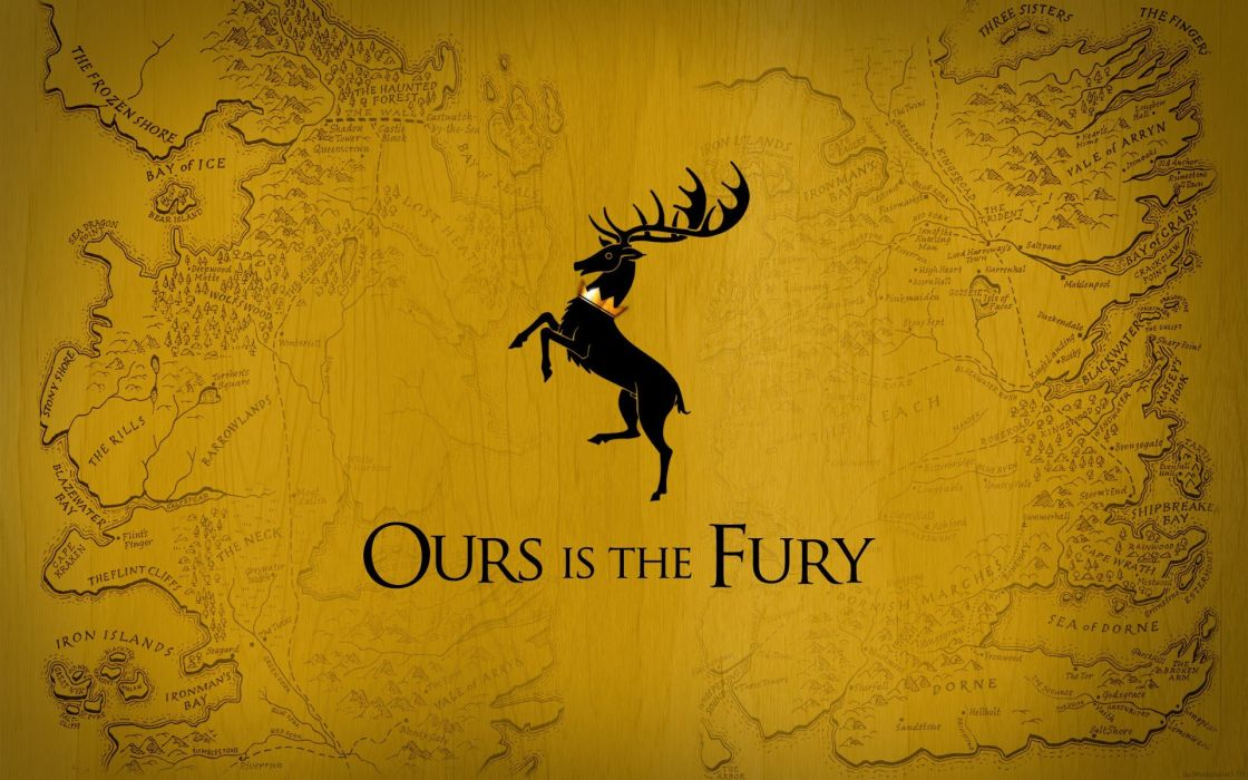 Game of Thrones A Song of Ice and Fire TV series House Baratheon stag wallpaper