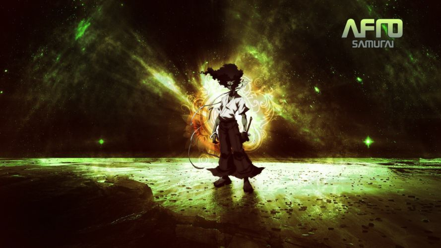 Afro Samurai anime wallpaper