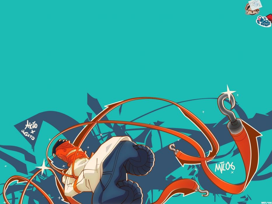 Air Gear anime manga Wanijima Akito Wanijima Agito Oh! Great wallpaper