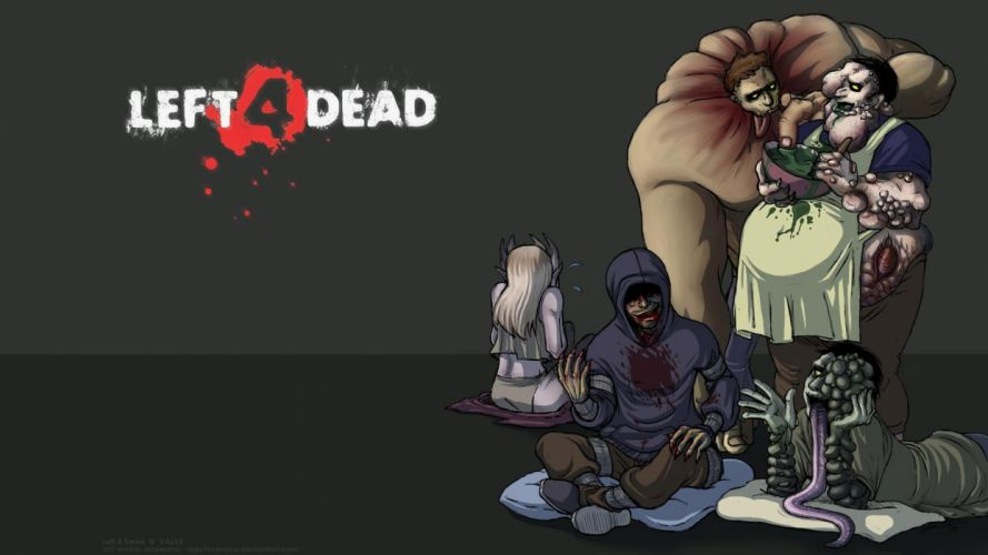 zombies tanks Boomer Left 4 Dead witches smoker wallpaper