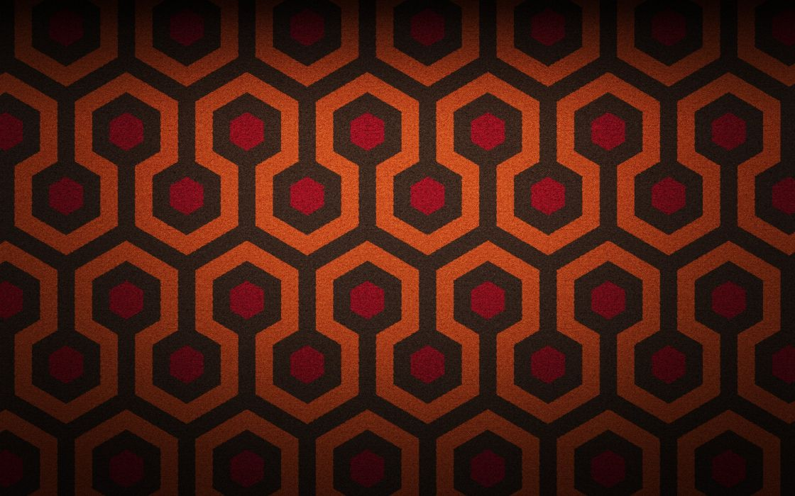 abstract minimalistic design patterns The Shining carpet wallpaper