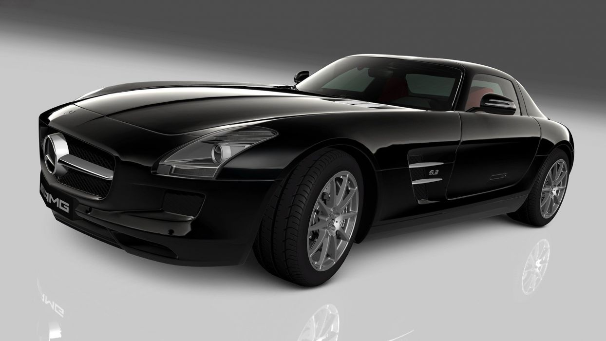 video games cars Gran Turismo 5 Mercedes-Benz SLS AMG Playstation 3 wallpaper