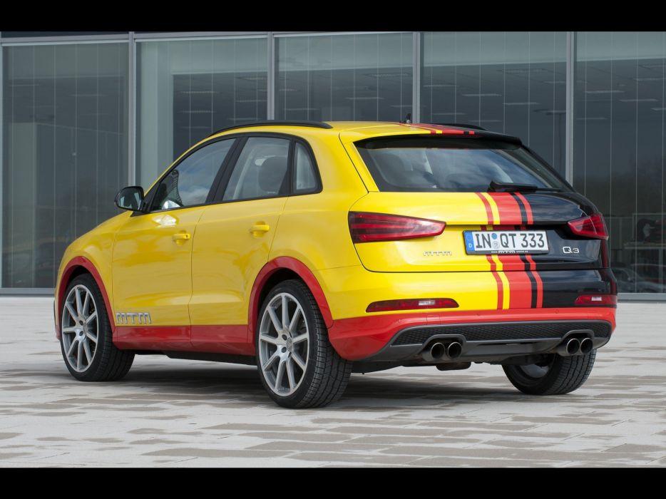 vehicles Quattro Audi Q3 MTM wallpaper