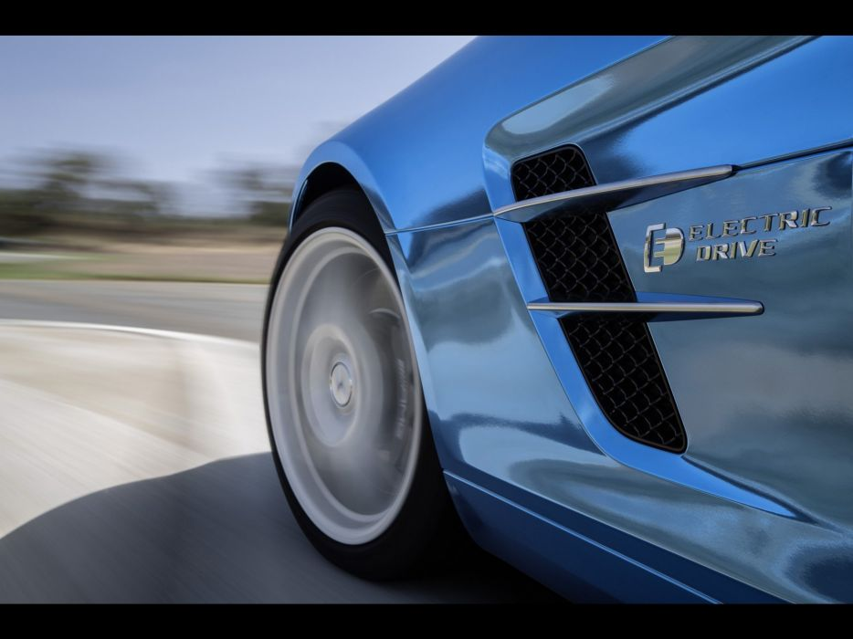 electric drive Motion coupe SLS AMG Mercedes Benz mercedes benz sls Mercedes Benz Sls Amg wallpaper