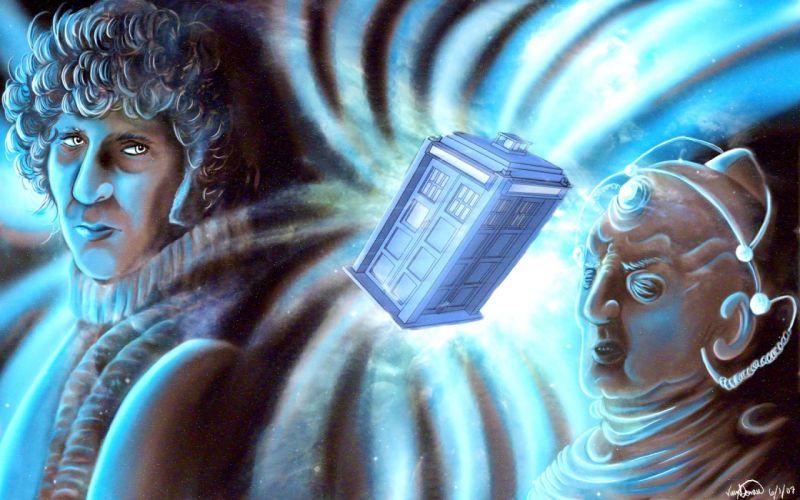 TARDIS Fourth Doctor Tom Baker Doctor Who Gallifrey wallpaper