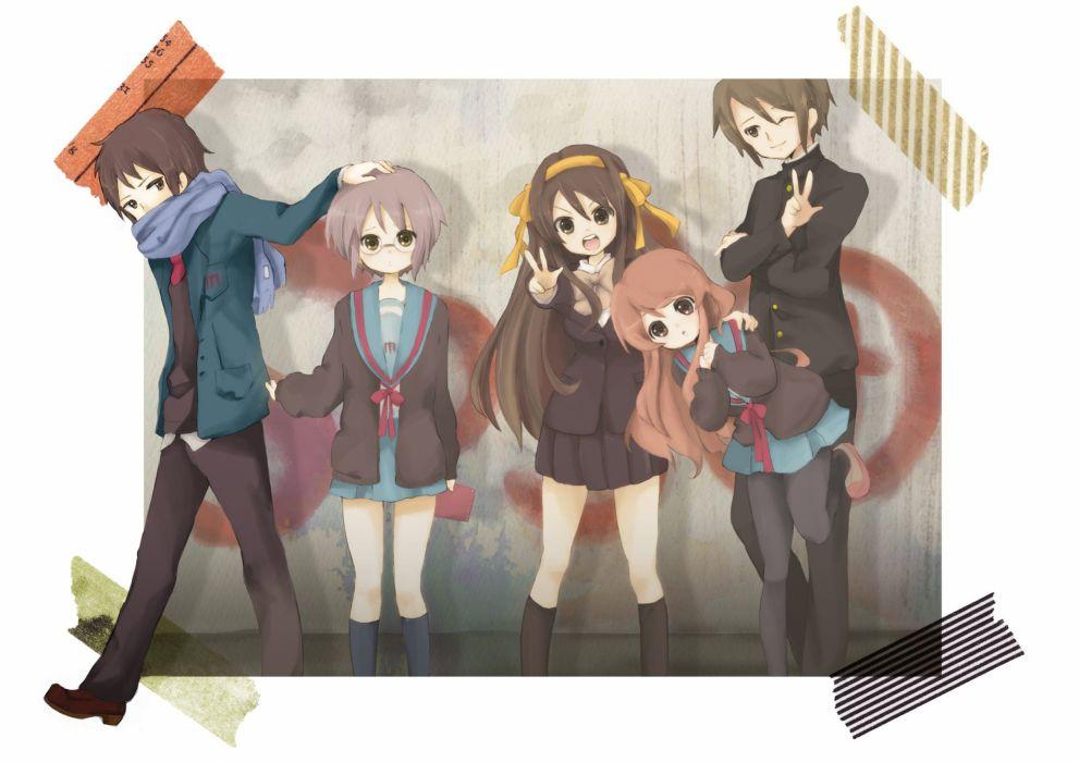 The Melancholy of Haruhi Suzumiya anime Suzumiya Haruhi wallpaper