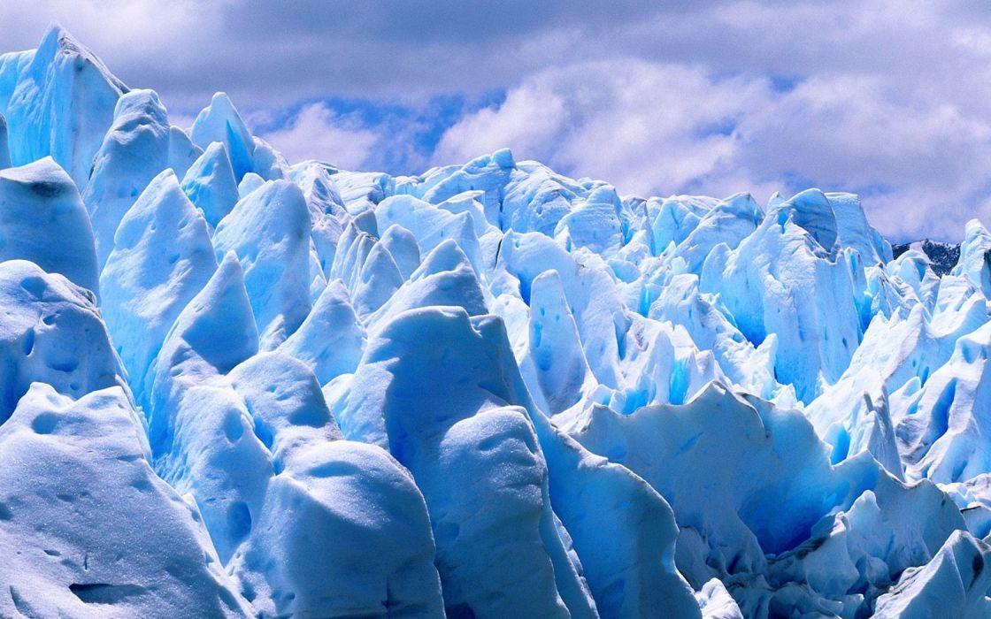 landscapes nature Argentina glacier wallpaper