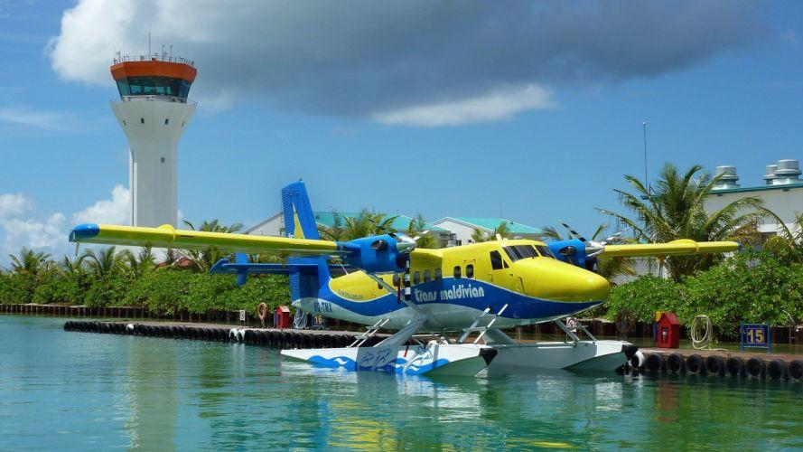 airplanes seaplane wallpaper