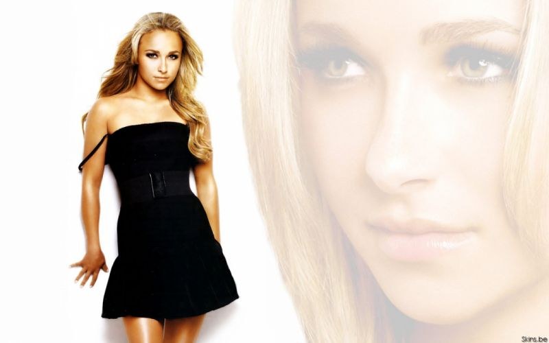 blondes women actress Hayden Panettiere celebrity white background wallpaper