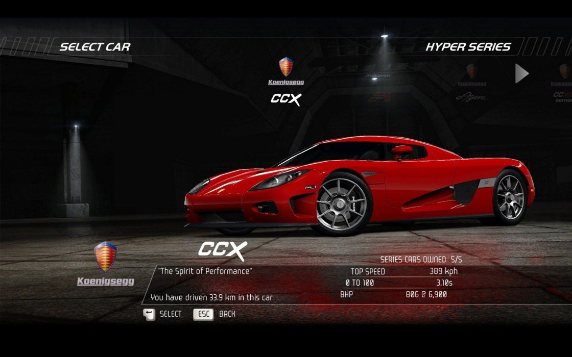video games cars vehicles Koenigsegg CCX Need for Speed Hot Pursuit pc games wallpaper