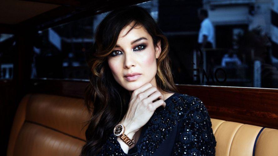 women actress faces BAIA wallpaper