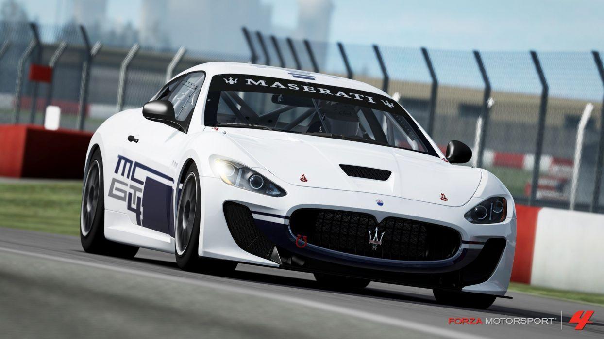 video games cars vehicles Xbox 360 Maserati GranTurismo Forza Motorsport 4 Maserati GranTurismo MC wallpaper