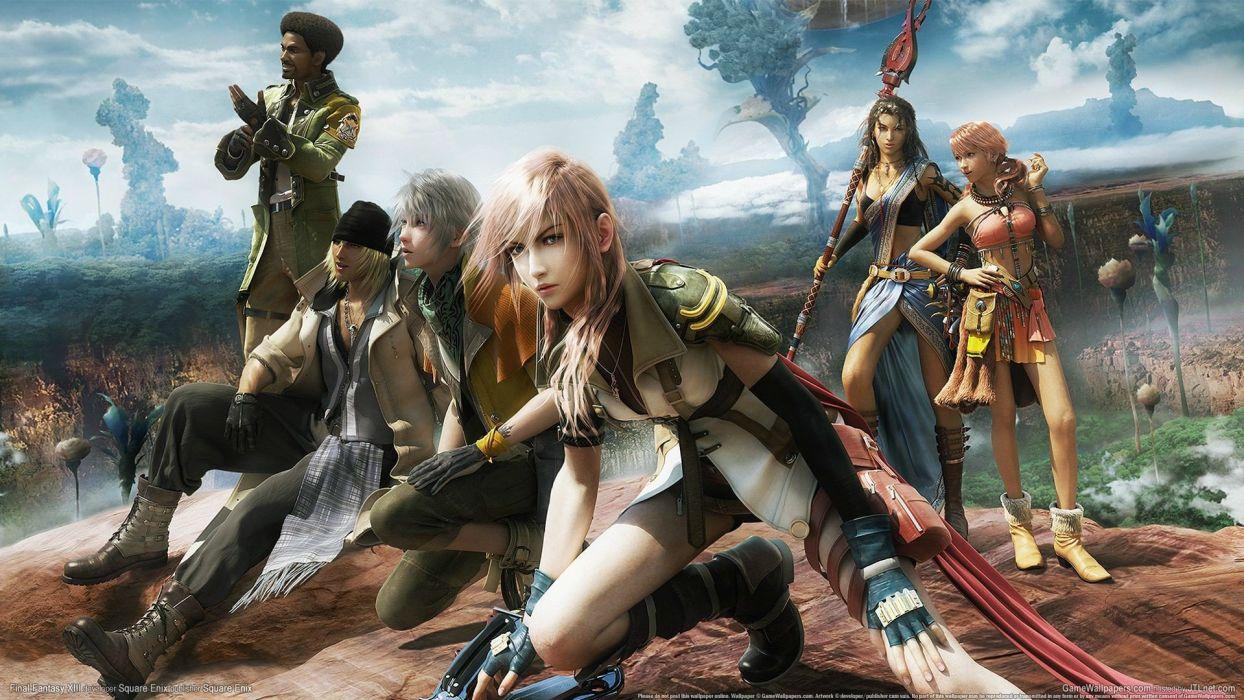 Final Fantasy XIII artwork wallpaper