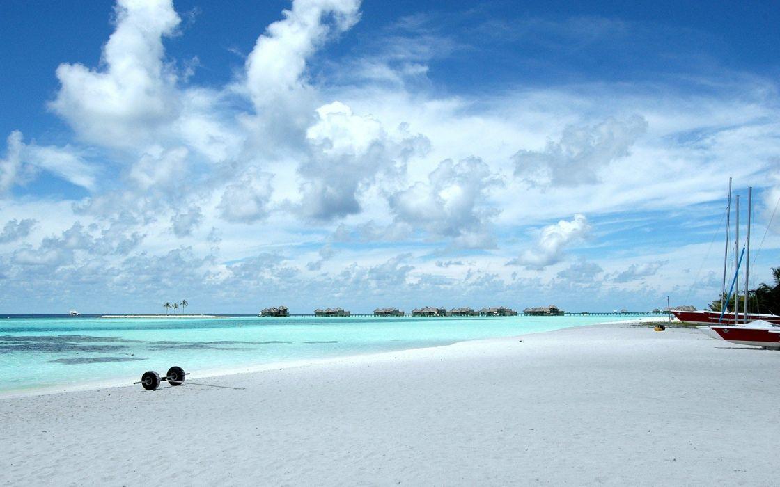 landscapes skyscapes sea beaches wallpaper
