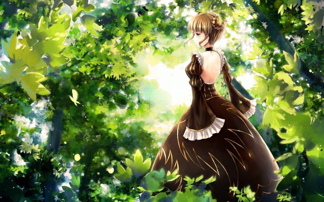 Umineko no Naku Koro ni Beatrice wallpaper