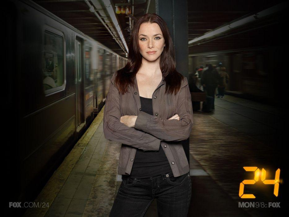 train stations Annie Wersching 24 (TV series) wallpaper