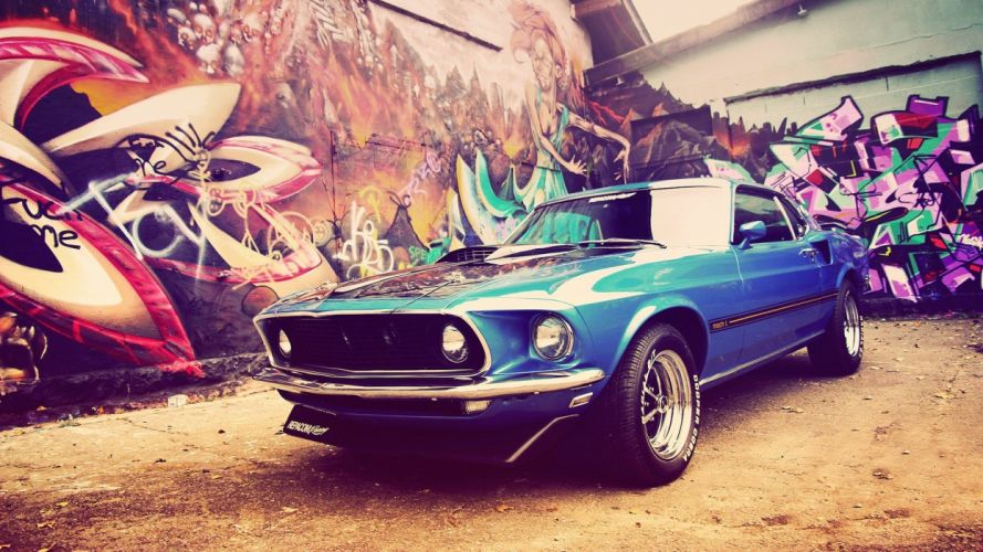 Ford Ford Mustang Ford Mustang Mach 1 wallpaper