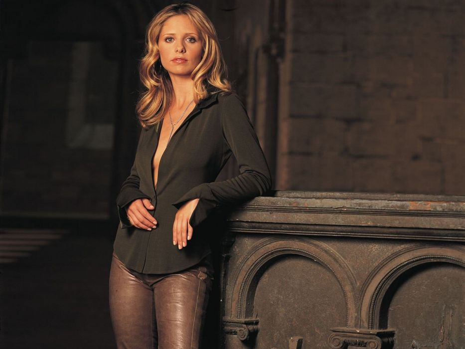 women Sarah Michelle Gellar wallpaper