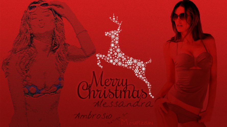 women Alessandra Ambrosio wallpaper