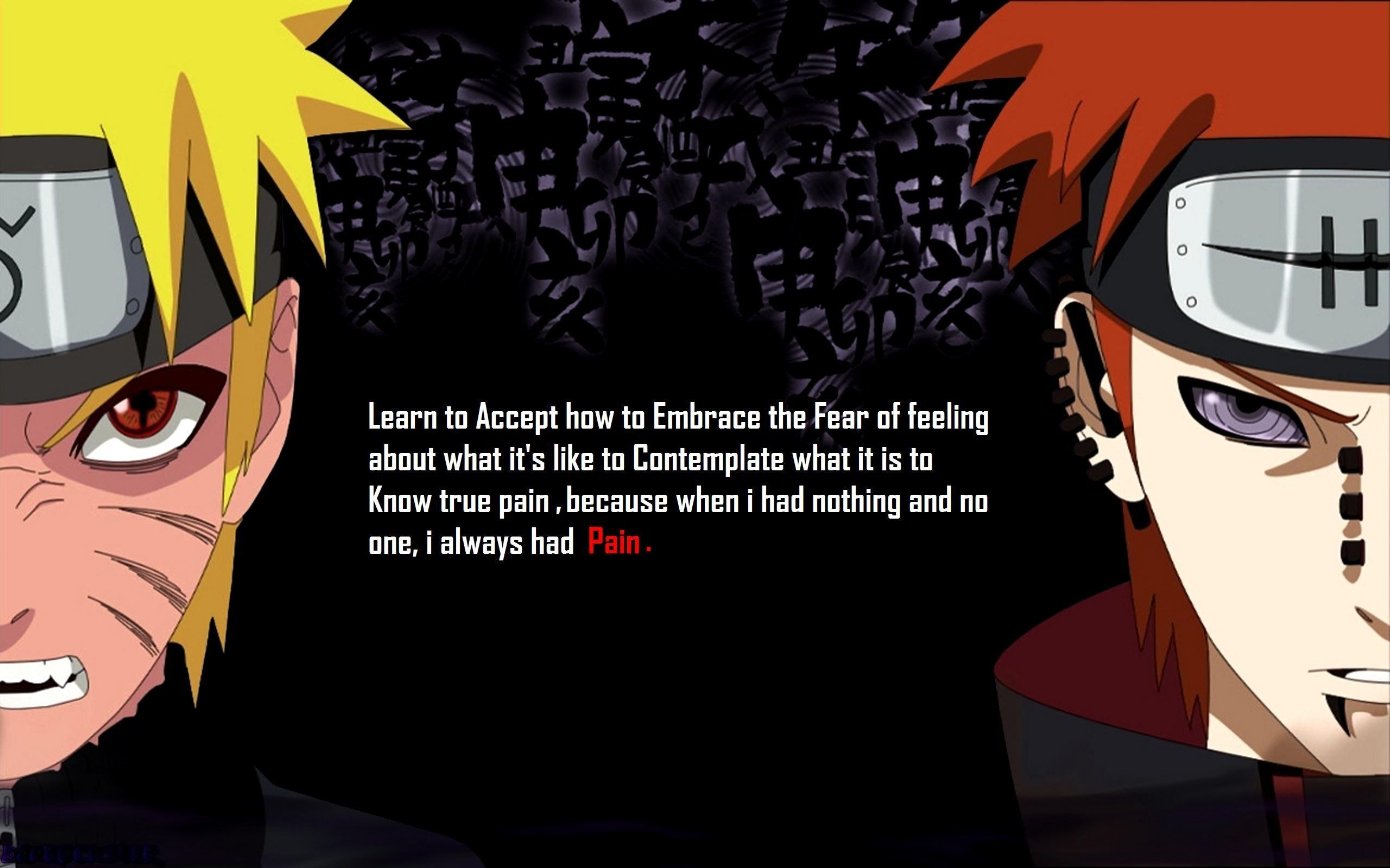 Naruto Shippuden Pain Quotes