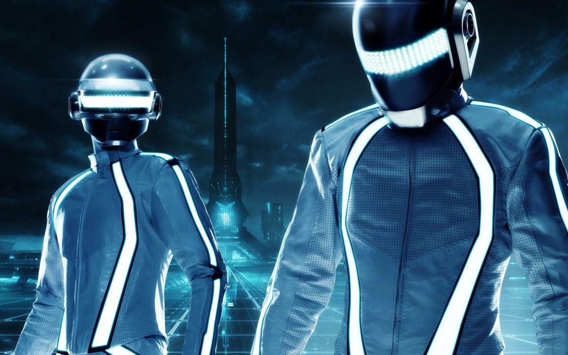 Daft Punk Tron wallpaper