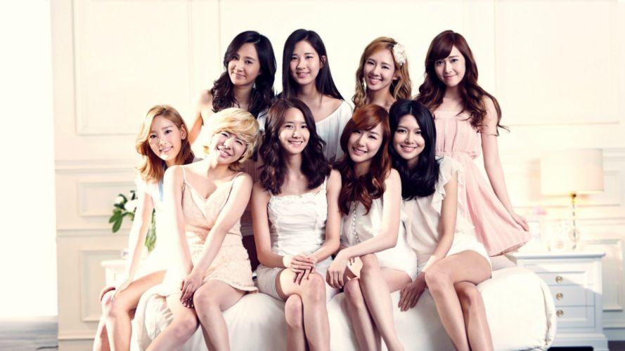 women music models pop Girls Generation SNSD celebrity Asians Korean Korea K-Pop South Korea wallpaper