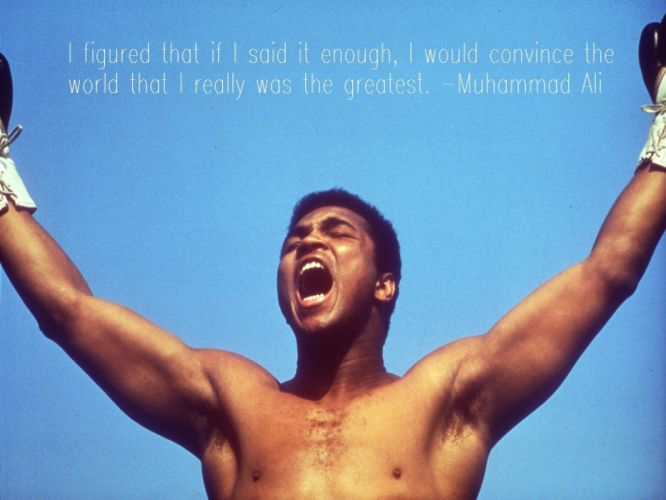 quotes Muhammad Ali wallpaper