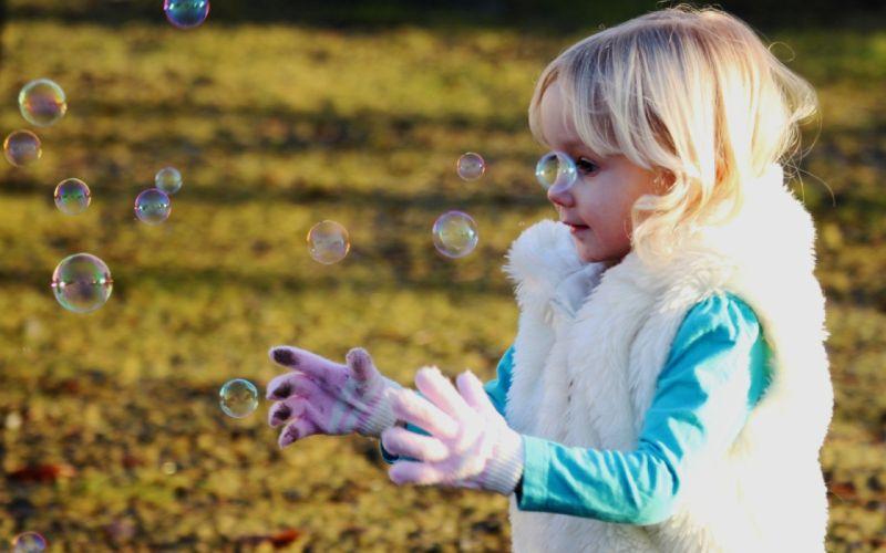 bubbles bulls children wallpaper