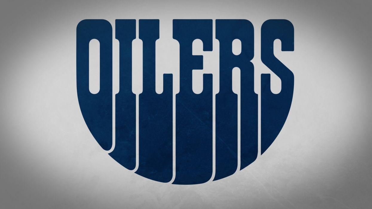 minimalistic sports hockey NHL Edmonton Oilers simple wallpaper