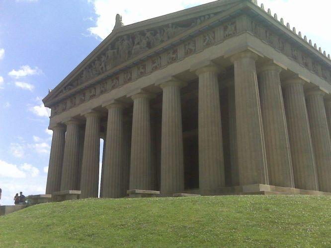 architecture Parthenon wallpaper