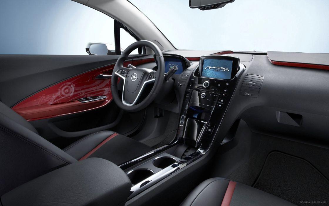 cars interior Opel Opel Ampera wallpaper