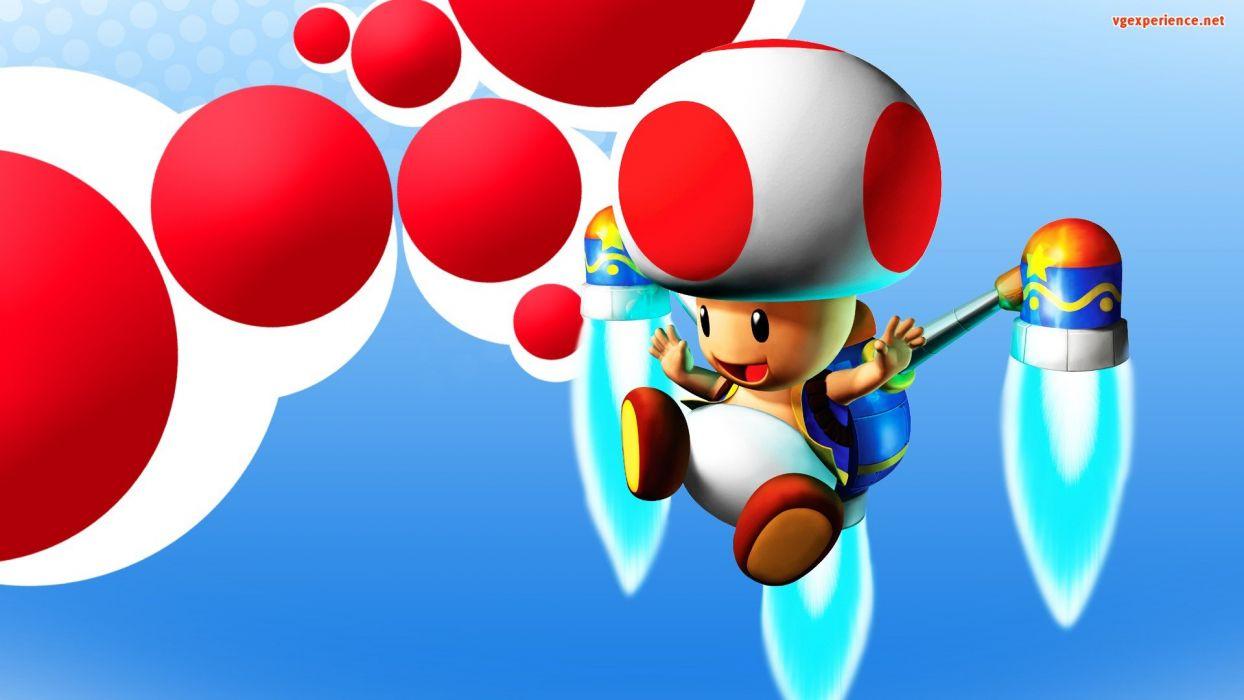 Mario toad (character) wallpaper