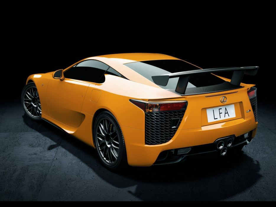 cars Lexus LFA NAIA wallpaper