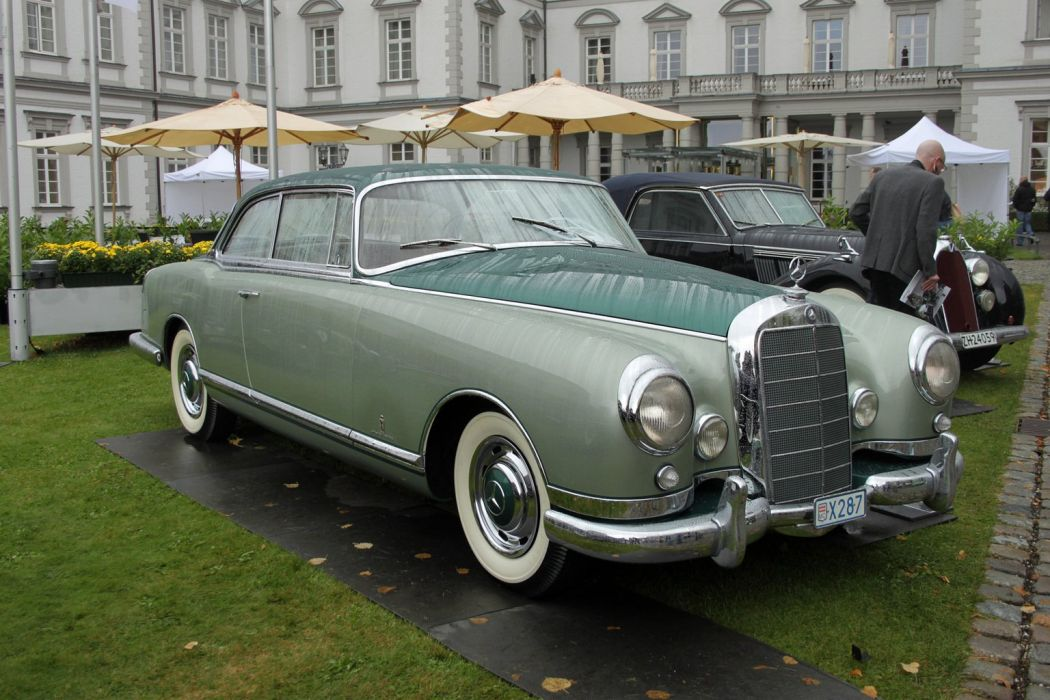 1955 Mercedes-Benz 300 B Pininfarina wallpaper
