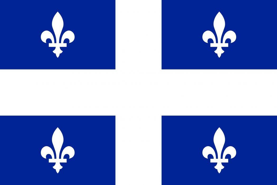 2000px-Flag of Quebec_svg wallpaper