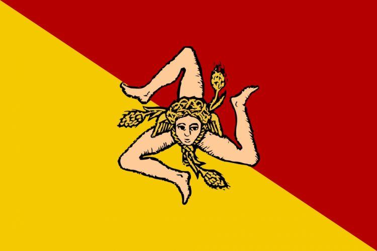 2000px-Flag of Sicily (revised)_svg wallpaper