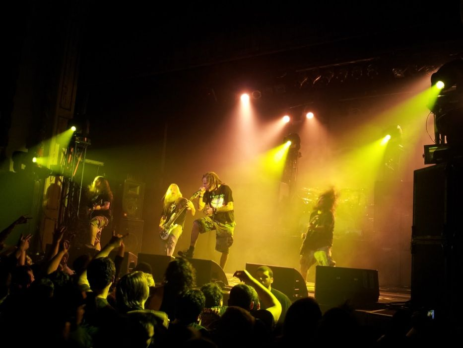 LAMB OF GOD groove metal heavy concert          te wallpaper