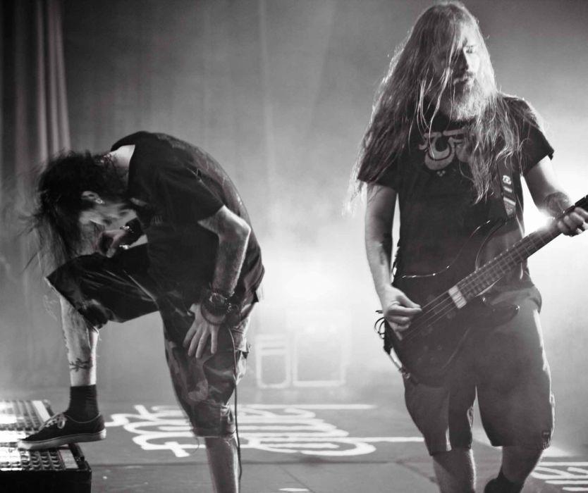 LAMB OF GOD groove metal heavy concert guitar singer microphone  y wallpaper
