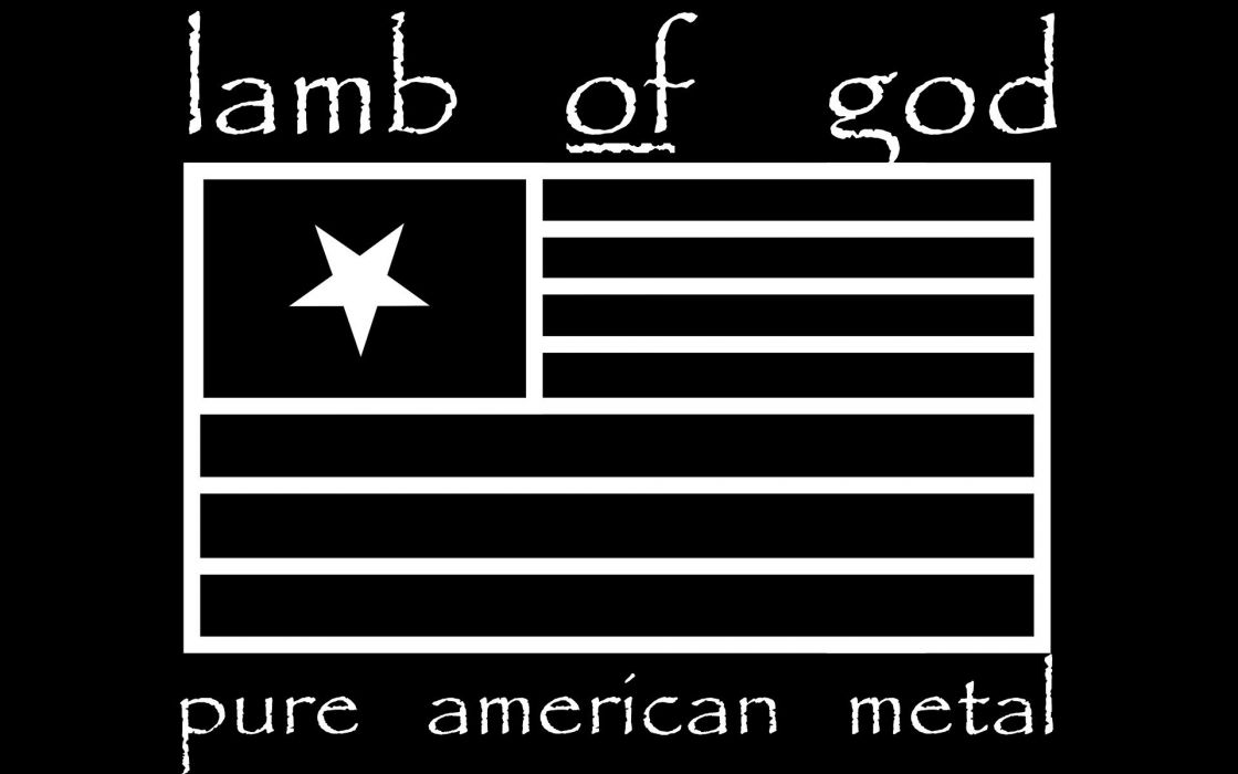 LAMB OF GOD groove metal heavy poster       h wallpaper