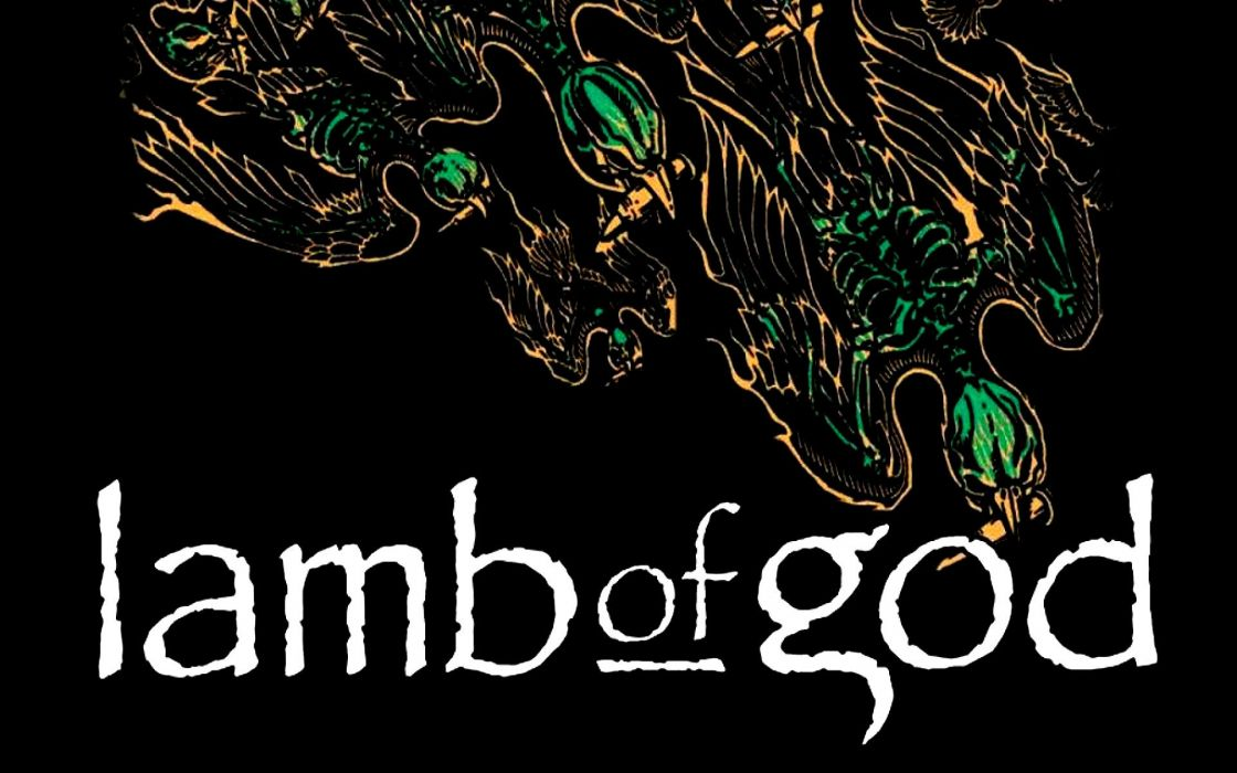 LAMB OF GOD groove metal heavy poster      hf wallpaper
