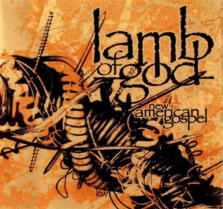 LAMB OF GOD groove metal heavy poster     b wallpaper
