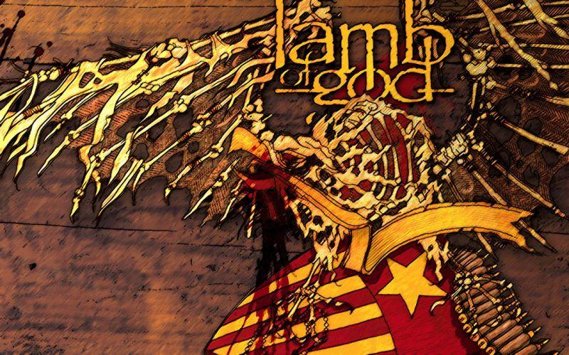 LAMB OF GOD groove metal heavy poster g wallpaper