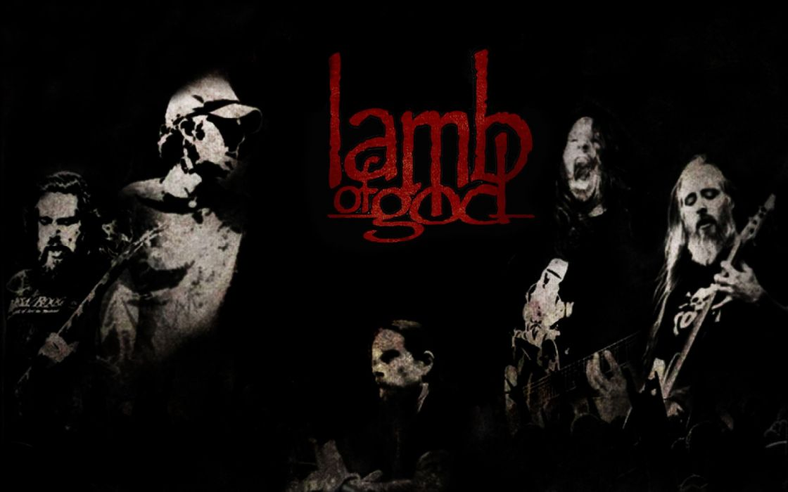 LAMB OF GOD groove metal heavy poster   tr wallpaper