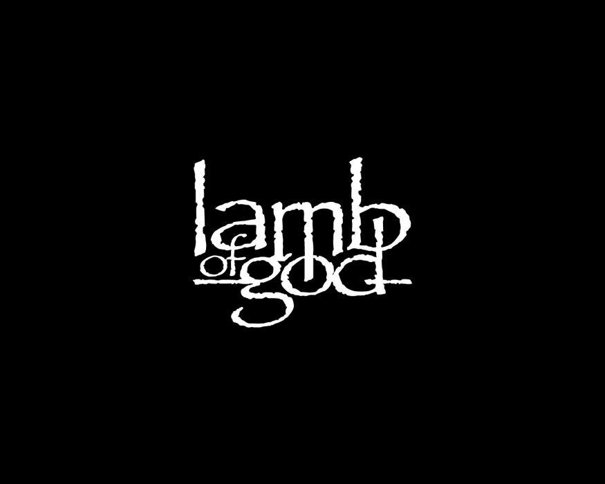 LAMB OF GOD groove metal heavy poster  hf wallpaper