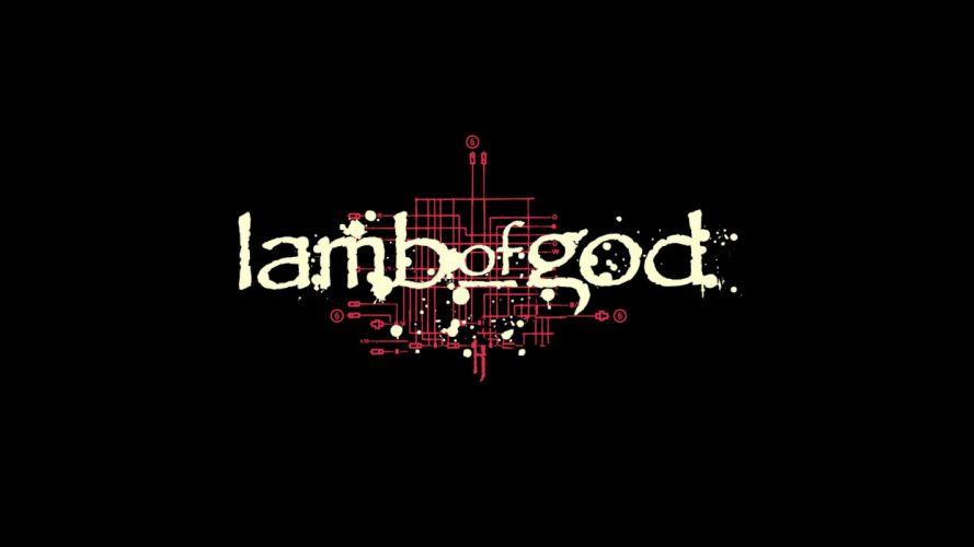 LAMB OF GOD groove metal heavy poster fd wallpaper