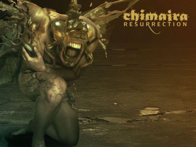CHIMAIRA groove metalcore nu-metal metal heavy dark poster f wallpaper