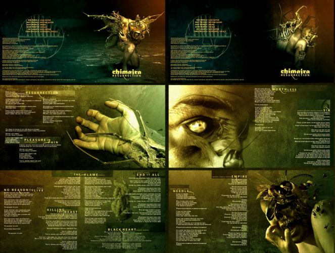 CHIMAIRA groove metalcore nu-metal metal heavy poster dark monster g wallpaper
